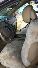 Sheepskin Seat Cover CARLAMB Mercedes E, M & G class,SUV,AIR BAGS,Sprinter,Pearl