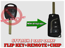 2003-2009 Remote Flip KEY For LEXUS RX330 RX350 RX400h with Original chip LF434