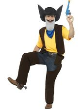 Smiffys adulte Texas Pete superted medium sous licence officielle costume complet