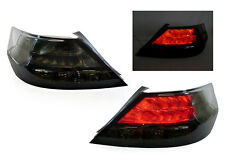 NEW PAIR 2009 2010 2011 2012 ACURA TL 4G BLACK SMOKE LED REAR TAIL LIGHTS LAMPS