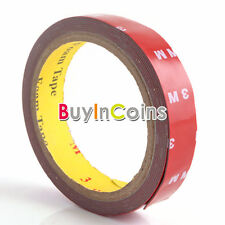 3M Car Auto Acrylic Foam Double Sided Attachment Adhesive Tape 20mm Firm