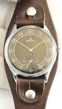 ZENITH caliber 12-4 Vintage MILITARY TYPE WATCH with TROPICAL DIAL