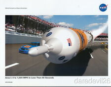 2008 NASA Race Car Aries I NASCAR postcard