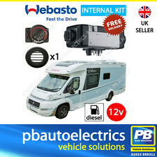 Webasto Air Top 2000STC Rotary 12v Motorhome Diesel Heater Kit 1 Outlet 4114762B