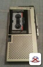 OLYMPUS PEARLCORDER L200 MICRO-CASSETTE VOICE  RECORDER WORKING.(C2B1)