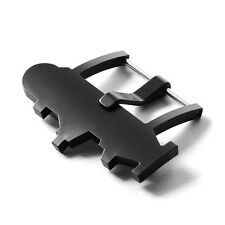 24mm Thick Wide PVD Aftermarket Submarine Buckle for Panerai Strap Band Watch