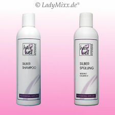 Blond Shampoo & Conditioner Set 2x250ml HAIRWELL EURODOR Silikonfrei Parabenfrei