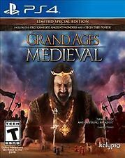 Grand Ages: Medieval -- Limited Special Edition (Sony PlayStation 4, 2015) NEW
