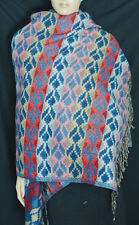 WOOLEN SCARVES STOLE SHAWL SCARF YAK WOOL COTTON CASHMERE WRAP  NEPAL INDIA SRP2
