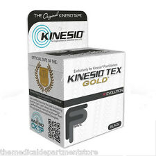 Kinesio® Tex Gold™ Tape (TWO)Rolls -  Black