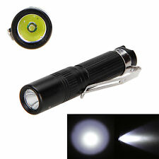 CREE R5 1000 Lumen AAA/10440 mini pocket keychain handy EDC LED Flashlight torch