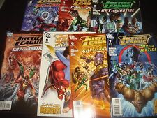 JUSTICE LEAGUE : CRY FOR JUSTICE#1 2 3 4 5 6 7 Complete Set   DC Comics 2009  NM