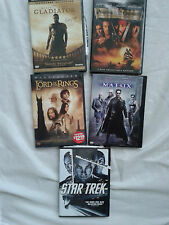 Lot of 5 Drama and Science Fiction DVDs Movies
