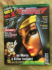 SUPER POWER 34 ÉTÉ 95 MAGAZINE DE JEUX VIDEO NINTENDO SEGA XBOX PLAYSTATION