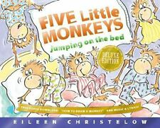 Five Little Monkeys Jumping on the Bed 25th Anniversary Edition (A Fiv-ExLibrary