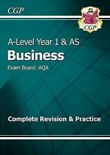 New A-Level Business: AQA Year 1 & AS Complete Revision & Practice: Exam...