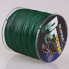 16 Strands Moss Green 100M 30LB 100%PE Dyneema Braided Fishing Line