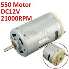 DC 12V RS-550 21000 RPM High Speed Large Torque 550 Motor For DIY Electric Tool