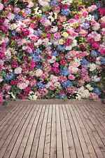 Flower Wall 8'x12' CP Backdrop Computer printed Scenic Background CM-5132