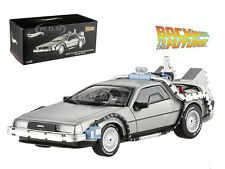 DELOREAN BACK TO THE FUTURE TIME MACHINE W/ MR FUSION 1/43 HOTWHEELS BCK08