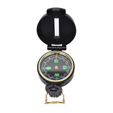Metal Lensatic Compass Military Camping Hiking Army Style Survival Marching ESUS