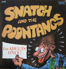 Snatch And The Poontangs LP Kent Johnny Otis Blues R&B