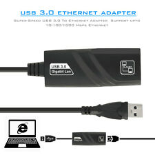 USB 3.0 a Gigabit Ethernet rj45 Adattatore schede di rete LAN per PC NOTEBOOK MAC