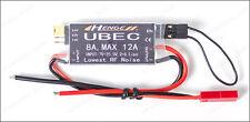 HENGE 5v/6v/7.4v 8A UBEC 7V-25.5V Input 2-6 Lipo