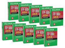 Pellicola Istantanea c/Polaroid Pack 100/660 Fujifilm FP-100C FP100C SILK 10x10f
