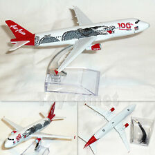 Air Asia 100th Awesome A320 9M-AQH Airplane 16cm DieCast Plane Model