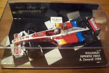 1/43 WILLIAMS 1999 SUPERTEC FW21 ALEX ZANARDI