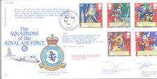 RAF FDC 4 - 1992 Gilbert & Sullivan signed CO Hercules 47 Sqn WILLIAMS