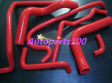HOLDEN VN VP VR VS V8 5.0L SS 304 SILICONE HEATER RADIATOR HOSE 7 PCS RED