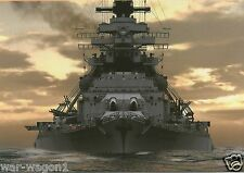 WW II - Photo --  German  Battleship Bismarck   --