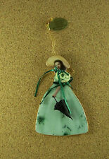 Gone With Wind Legendary Costumes Scarlett O'Hara THE BARBECUE DRESS Ornament