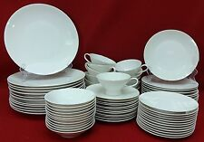 ROSENTHAL Germany CLASSIC MODERN WHITE pattern 72-piece SET SERVICE for 12