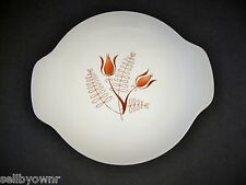 "Vintage ROYAL CHINA INC Handled PLATE 7.5"" Tanglewood Pattern Sandwich Dish"