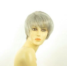 short wig for women gray ref: louise 51 PERUK
