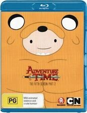ADVENTURE TIME -  SEASON 5 part 2  -   Blu Ray - Sealed Region B for UK