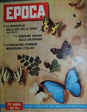 EPOCA N°477/ 22/NOV/1959 * COPPI E BARTALI INSIEME - IL PUGILE IGNAZIO MELONE