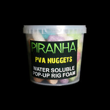 PIRANHA PVA Nuggets 1 litre tub coloured water soluble pop up gain the advantage