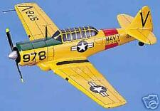 SNJ Texan North American Navy Airplane Wood Model Big