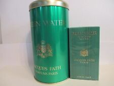 VINTAGE JACQUES FATH GREEN WATER  JACQUES FATH  COFFRET  EDT VAP 75 ML NEUF