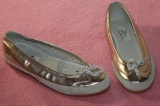 Tom Tailor ♥ Ballerina ♥ Schuhe ♥ Gr. 40 ♥ *NEU* ♥ rosa metallic ♥ einfach SÜSS