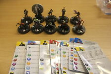 Heroclix batman complet 10 figure gravity feed set 201-210