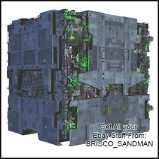 Fridge Fun Refrigerator Magnet STAR TREK SHIP BORG TACTICAL CUBE -A- Diecut