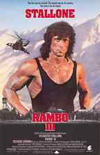 Rambo movie poster : 11 x 17 inches : Sylvester Stallone poster, First Blood