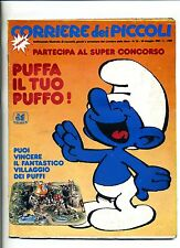 CORRIERE DEI PICCOLI # Anno LXXV N.22 1983 # Corriere della Sera # Puffi