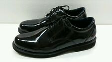 Thorogood Work Shoes Mens Academy Oxford High Gloss Black - Size 14W