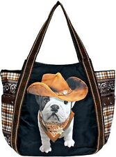 Borsa Shopping Donna Teo Jasmin Bag Tote Big Teo Cowboy Noir
